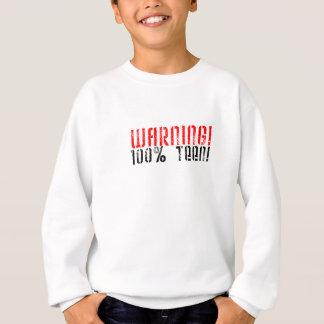 100% warnen jugendlich sweatshirt