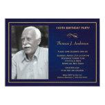 100th Geburtstags-Party Einladungen mit Foto 12,7 X 17,8 Cm Einladungskarte