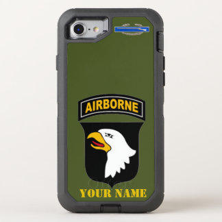 101st IM FLUGZEUG ABTEILUNG OtterBox Defender iPhone 8/7 Hülle