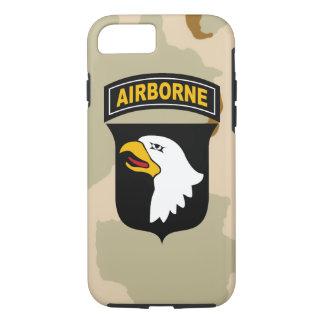 """101st Im Flugzeug Abteilung """"schreiender Eagles """" iPhone 8/7 Hülle"""
