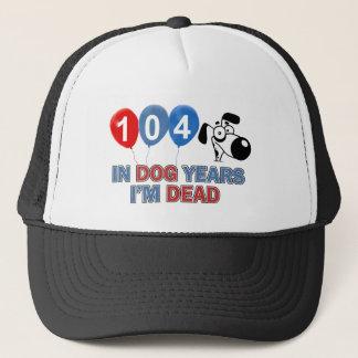104. Geburtstagsentwürfe Truckerkappe