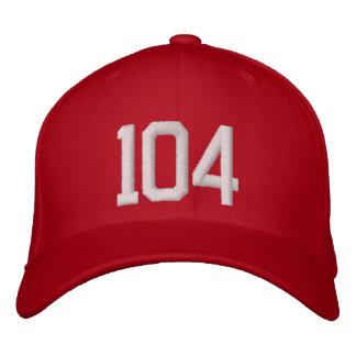 104 gestickte Kappe