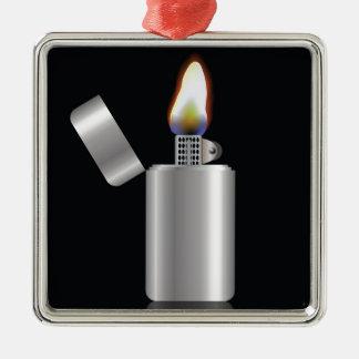 104Lighter _rasterized Silbernes Ornament