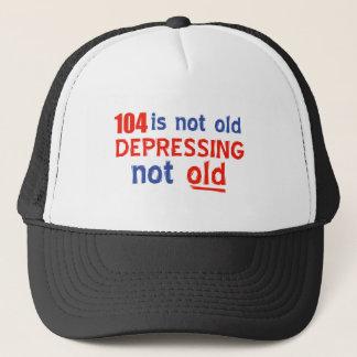 104years ist nicht alt truckerkappe