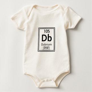 105 Dubnium Baby Strampler