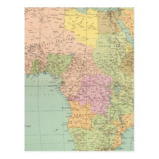 10708 Afrika Politik Postkarte