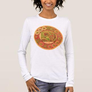 108 OM BESCHWÖRUNGSFORMEL Goodluck Friedenssymbol Langarm T-Shirt