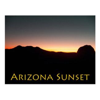 10/15/11 Dolan Frühlinge, Arizona-Sonnenuntergang Postkarte