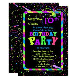 10. Der Geburtstags Party Des Karte