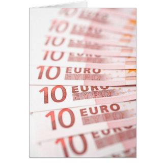10 Euros Karte