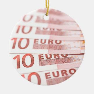 10 Euros Keramik Ornament
