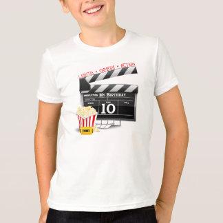 10. Geburtstaghollywood-Film-Party T-Shirt