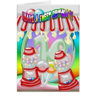 10. Geburtstags-Karte - süßer Geburtstag -