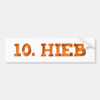 10. Hieb Wien Autoaufkleber