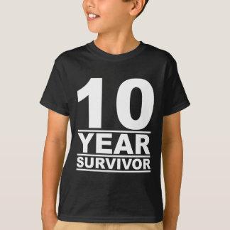 10-jähriger Überlebender T-Shirt