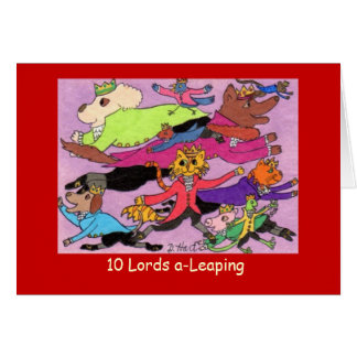 10 Lords EinSpringen Karte