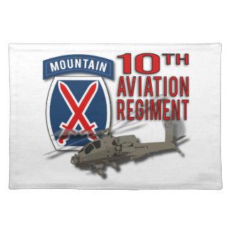 10. Luftfahrt-Regiment - Apache Stofftischset