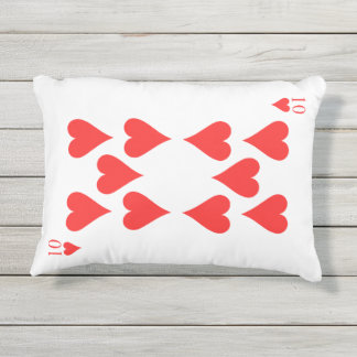 10 von Herzen Kissen Für Draußen