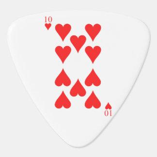 10 von Herzen Plektrum