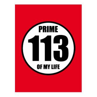 113 - höchste Vollkommenheit meines Lebens Postkarte