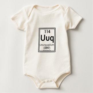 114 Ununquadium Baby Strampler