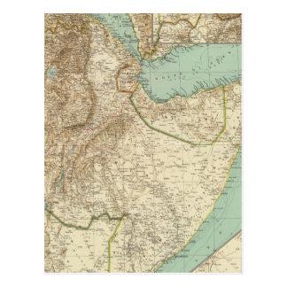 11617 Eritrea, Äthiopien, Somalia Postkarte