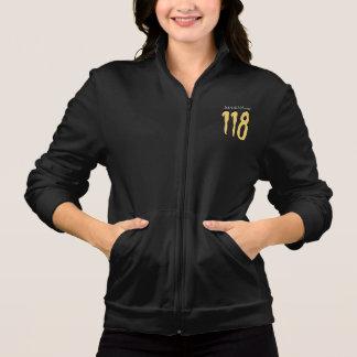 118 - Kalifornien-Fleece-Ziprüttler