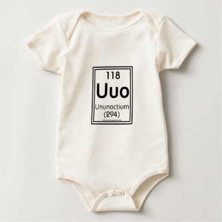 118 Ununoctium Baby Strampler