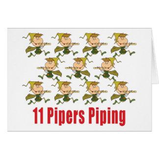 11 Pfeifer, die Karten leiten