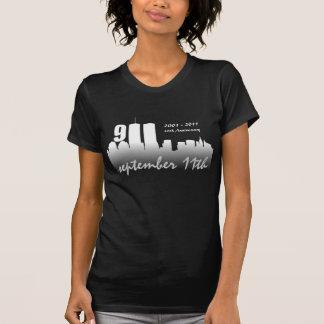 11. September -10th Jahrestags-Schmutz-T-Shirt T-Shirt