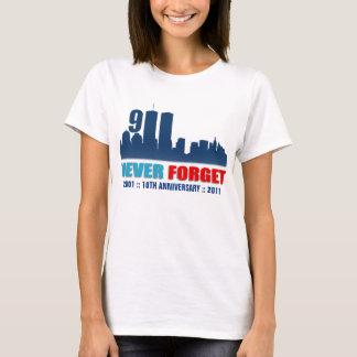 11. September - vergessen Sie nie - WTC T-Shirt