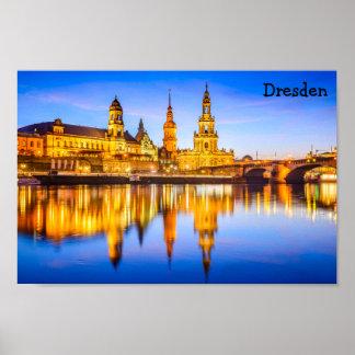 """11"""" x 8,5"""", Wert-Plakat-Papier (Matt) Dresden Poster"""