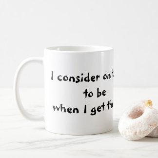 11oz. Kaffee-Tasse mit Zitat Kaffeetasse