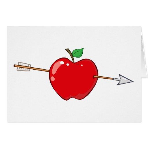 12935_RF_Clipart_Illustration_Arrow ROTES APPLE AR Karten