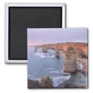 12 Apostel Australien Quadratischer Magnet