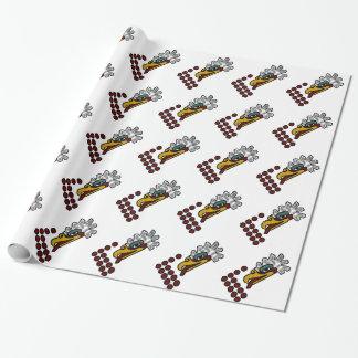 12 Eagle aztekisches Tageszeichen Geschenkpapier