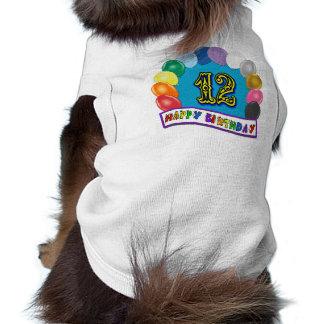 12 Geburtstags-Geschenke mit sortiertem Ballon-En Haustierklamotten