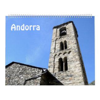 12 Monat Andorra-Foto-Kalender Kalender
