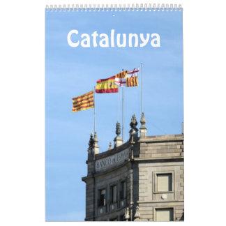 12 Monat Catalunya (Katalonien) Fotokalender Abreißkalender