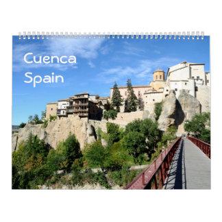 12 Monat Cuenca, Spanien Fotokalender Kalender