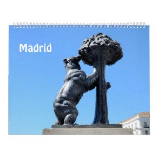 12 Monat Madrid-Fotokalender Wandkalender