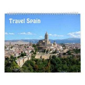 12 Monat Reise-Spanien-Foto-Kalender Abreißkalender