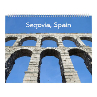 12 Monat Segovia, Spanien Fotokalender Wandkalender