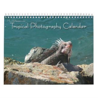 12 Monate tropische Fotografie, 2. Ausgabe Abreißkalender
