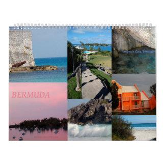 12-monatiger Kalender von Bermuda