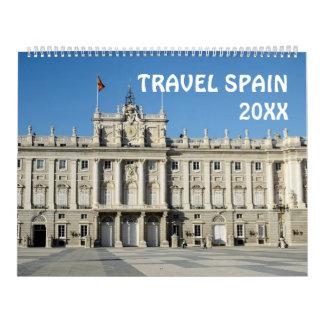 12-monatiger Reise-Spanien-Kalender Abreißkalender