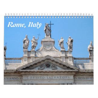 12-monatiger Rom-Wandkalender Wandkalender