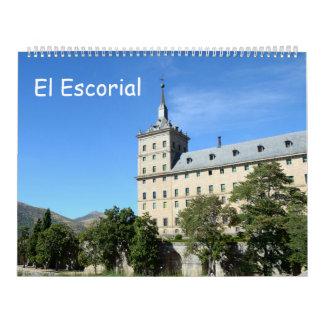 12-monatiges EL Escorial Wandkalender
