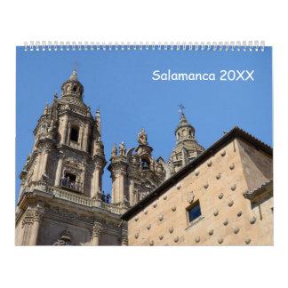 12-monatiges Salamanca, Spanien Wandkalender