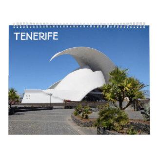 12-monatiges Teneriffa 2018 Kalender
